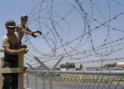 Stretching Razor Wire